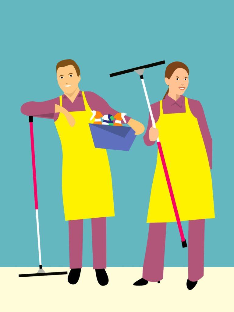 דרכים יעילות לניקוי הבית