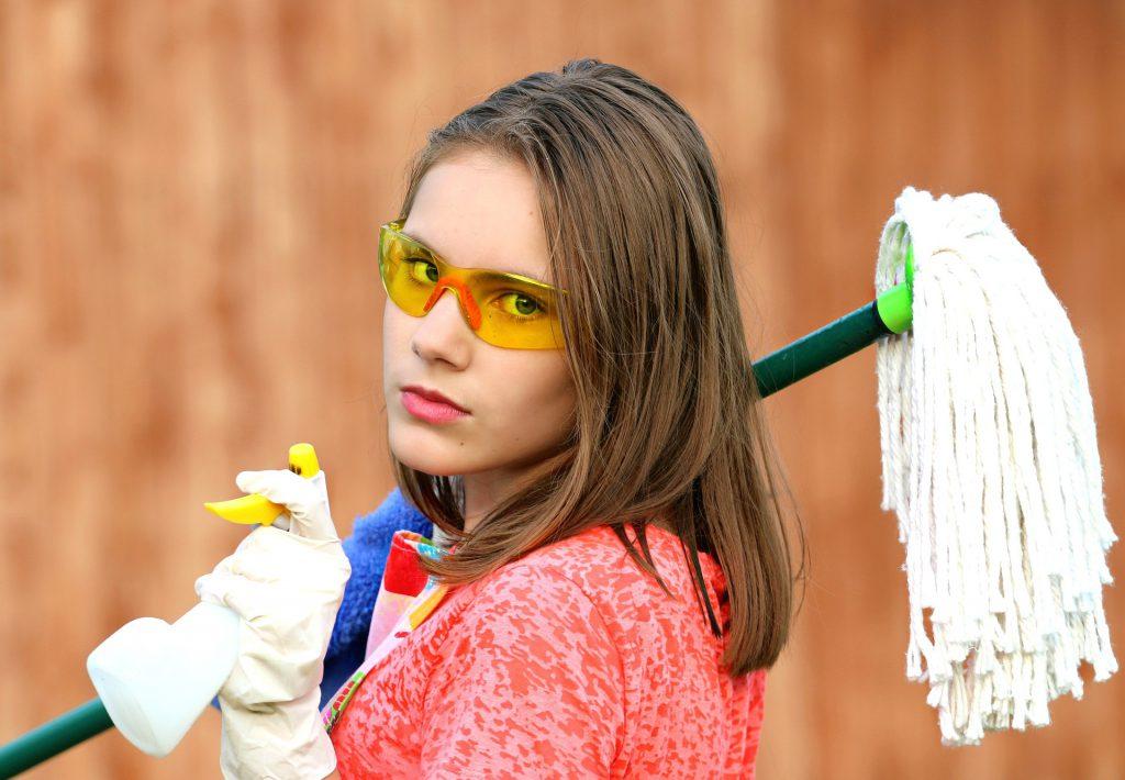 איך לנקות את הבית לקראת סופש